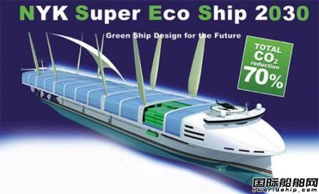 日本邮船披露2050年零排放概念船